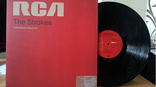 The Strokes Comedown Machine The Vinyl Reviewthe Vinyl