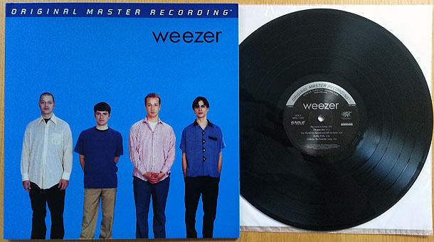 Weezer Self Titled Mfsl The Vinyl Reviewthe Vinyl Review